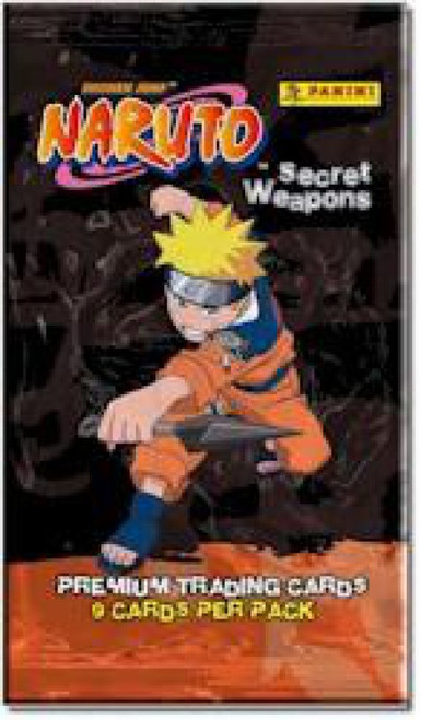 Naruto Secret Weapons Trading Card Pack
