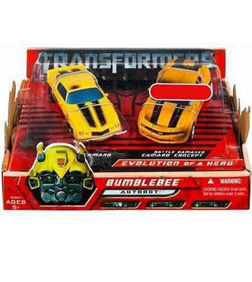 Transformers Movie Bumblebee Evolution of a Hero Exclusive Deluxe Action Figure 2-Pack