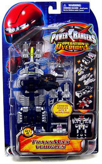 Power Rangers Operation Overdrive TranxMax Vehicles [Set G]