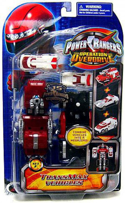 Power Rangers Operation Overdrive TranxMax Vehicles [Set F]