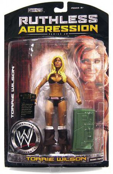 WWE Wrestling Ruthless Aggression Series 28 Torrie Wilson Action Figure