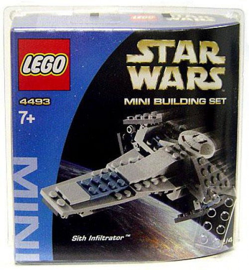 LEGO Star Wars Phantom Menace Mini Building Sets Sith Infiltrator Set #4493