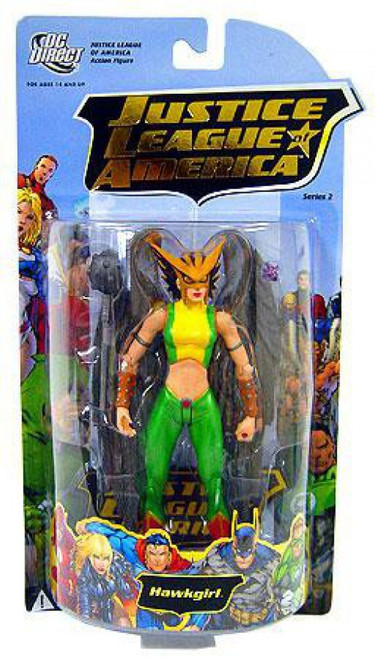 DC Justice League of America Series 2 Hawkgirl Action Figure