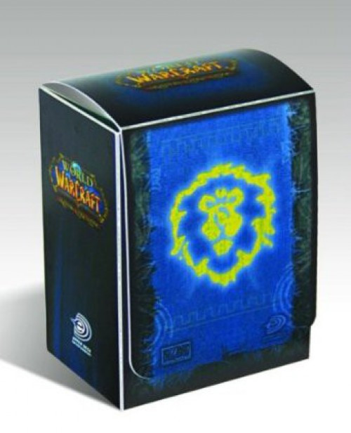 World of Warcraft Card Supplies Alliance Deck Box