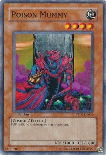 YuGiOh GX Trading Card Game Starter Deck: Jaden Yuki Common Poison Mummy YSDJ-EN009