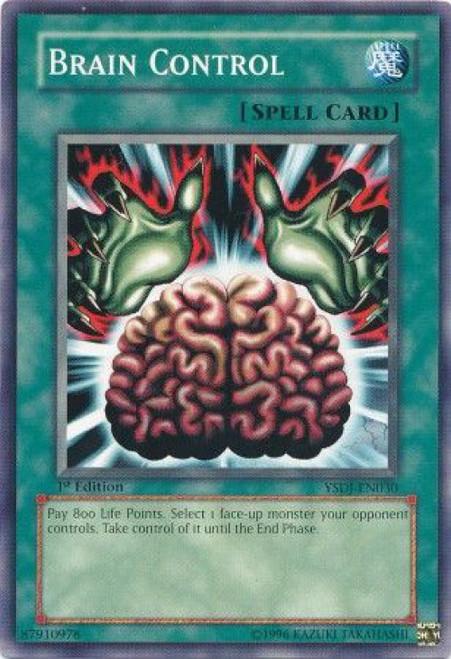 YuGiOh GX Trading Card Game Starter Deck: Jaden Yuki Common Brain Control YSDJ-EN030