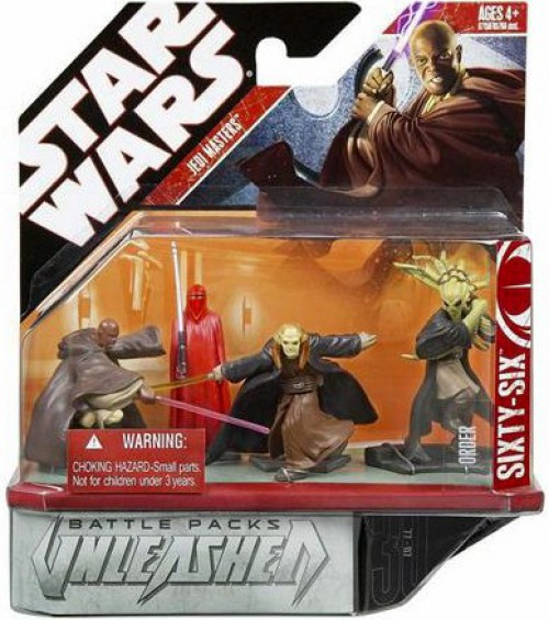 Star Wars Revenge of the Sith Battle Pack Jedi Masters Action Figure 4-Pack [Order Sixty-Six]