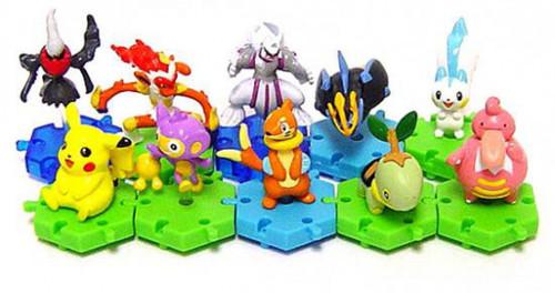 Pokemon Japanese Series 2 Set of 10 Connecting PVC Figures