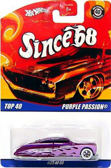 Hot Wheels Since '68 Purple Passion Diecast Car #25