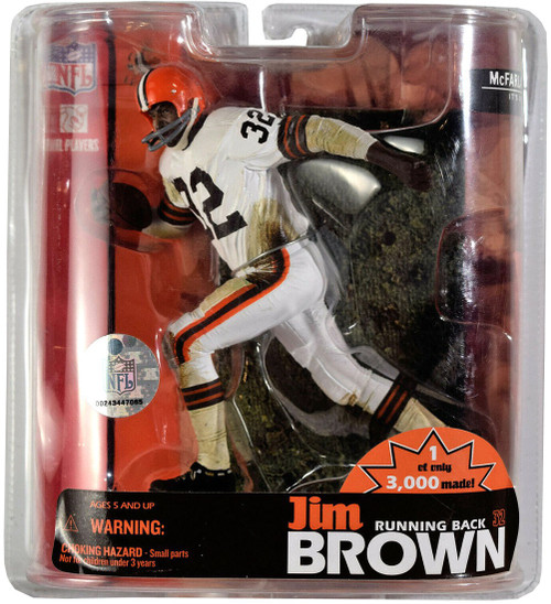 McFarlane Toys NFL Cleveland Browns Hall of Fame Jim Brown Exclusive Action Figure [Limited Edition]