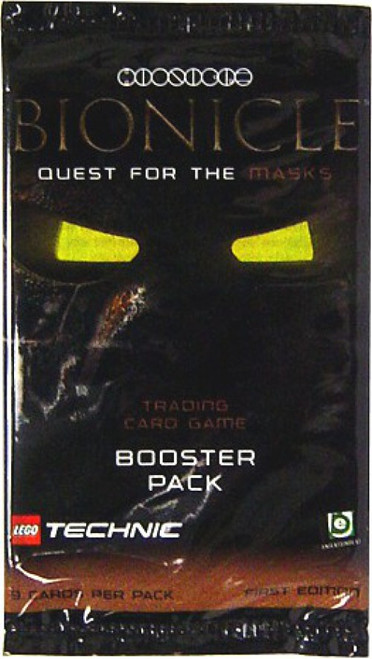 LEGO Bionicle Quest for the Masks Booster Pack [9 Cards]