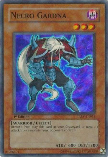 YuGiOh GX Trading Card Game Tactical Evolution Super Rare Necro Gardna TAEV-EN012