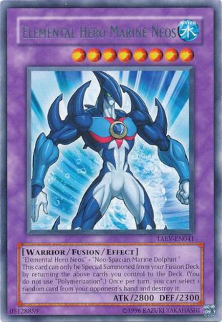 YuGiOh GX Trading Card Game Tactical Evolution Rare Elemental Hero Marine Neos TAEV-EN041