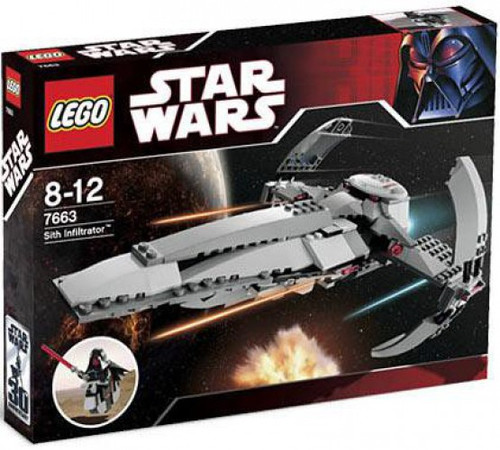 LEGO Star Wars Phantom Menace Sith Infiltrator Exclusive Set #7663