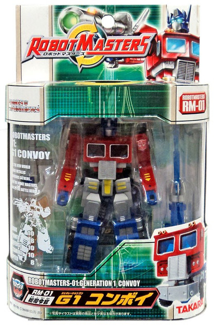 Transformers Japanese Robot Masters Generation 1 Convoy Action Figure RM-01 [Optimus Prime]
