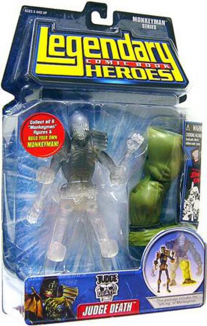 Marvel Legendary Heroes Monkeyman Series Judge Death Action Figure [Clear Version]