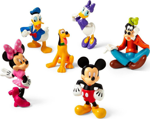 Disney Mickey Mouse Clubhouse Exclusive 6-Piece Figurine Playset