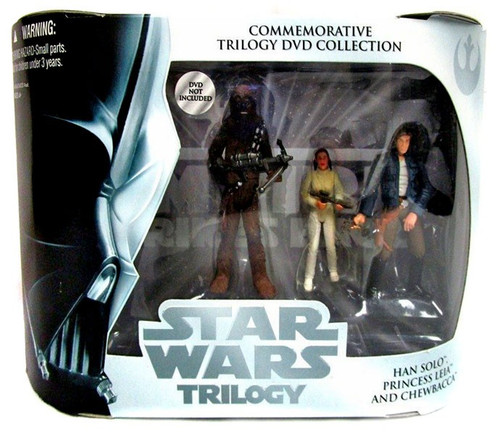 Star Wars The Empire Strikes Back DVD Collections Commemorative Trilogy DVD Collection Exclusive Action Figure Set [Episode V]
