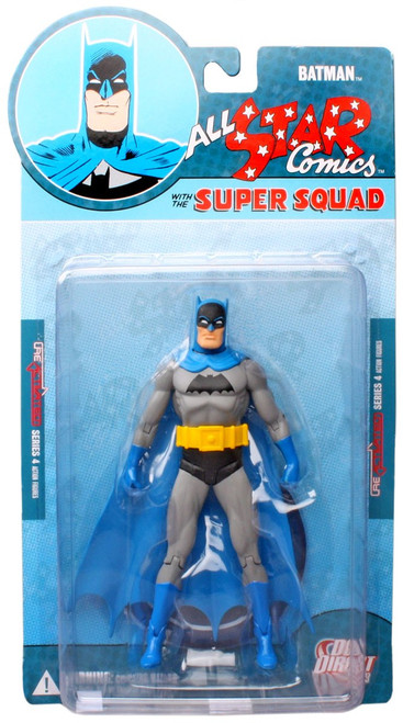Reactivated Series 4 All Star Comics Super Squad Batman Action Figure