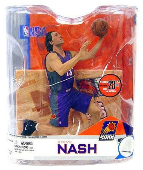 McFarlane Toys NBA Phoenix Suns Sports Picks Series 14 Steve Nash Action Figure [Purple Jersey]