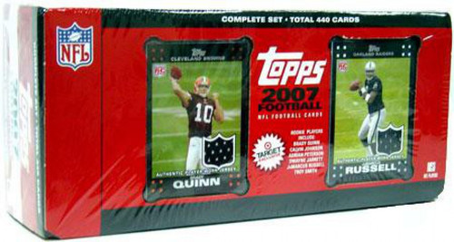 NFL 2007 Topps Football Cards Exclusive Complete Set