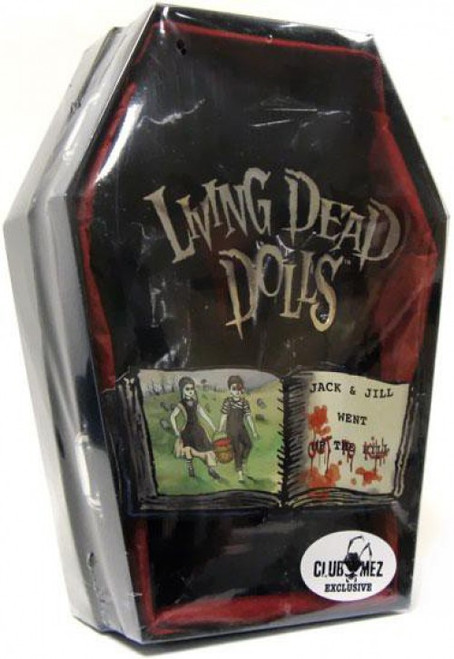 Living Dead Dolls Jack & Jill Exclusive Doll 2-Pack