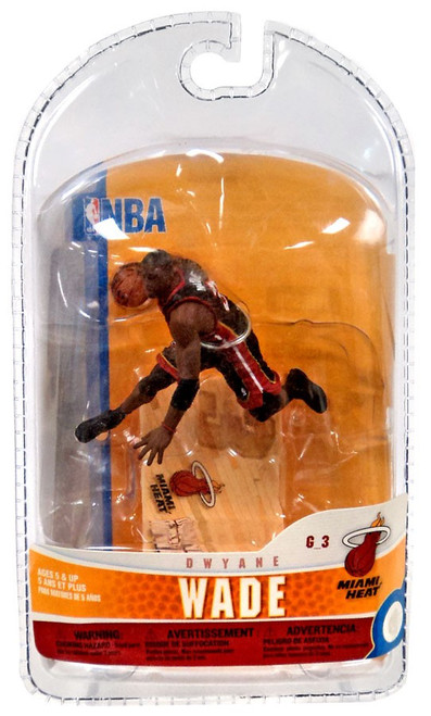 McFarlane Toys NBA Miami Heat Sports Picks 3 Inch Mini Series 5 Dwyane Wade Mini Figure