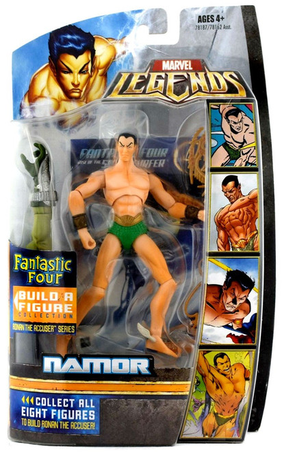 Marvel Legends Fantastic Four Namor Action Figure