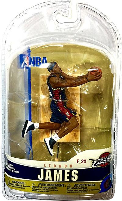 McFarlane Toys NBA Cleveland Cavaliers Sports Picks 3 Inch Mini Series 5 LeBron James Mini Figure