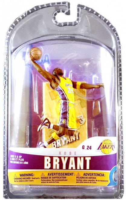 McFarlane Toys NBA Los Angeles Lakers Sports Picks 3 Inch Mini Series 5 Kobe Bryant Mini Figure