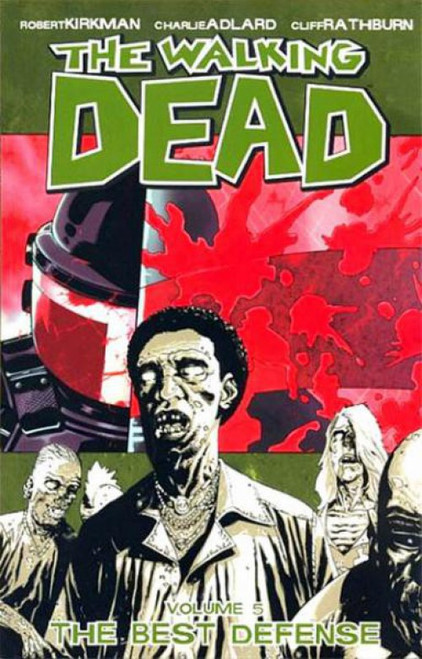 Image Comics The Walking Dead Volume 5 Trade Paperback [Best Defense]