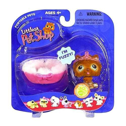 Littlest Pet Shop Portable Pets Chow Chow Figure [With Bed]