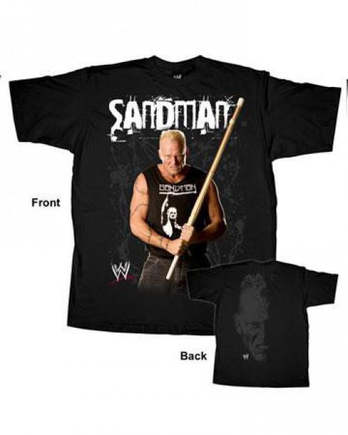 WWE Wrestling Sandman T-Shirt WWY072 [Youth XL]