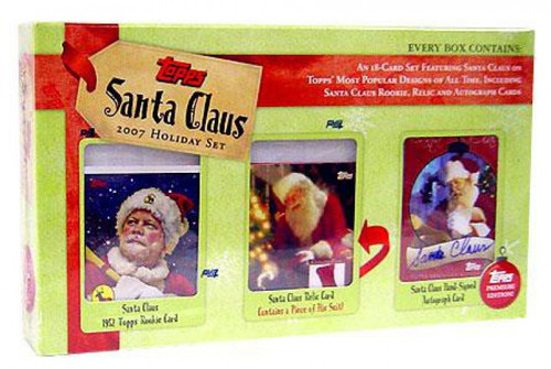 Topps 2007 Santa Claus Holiday Trading Card Set