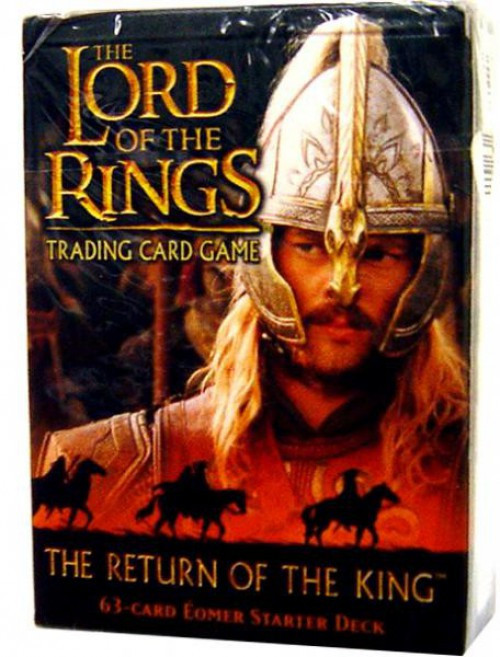 The Lord of the Rings Trading Card Game The Return of the King Eomer Starter Deck