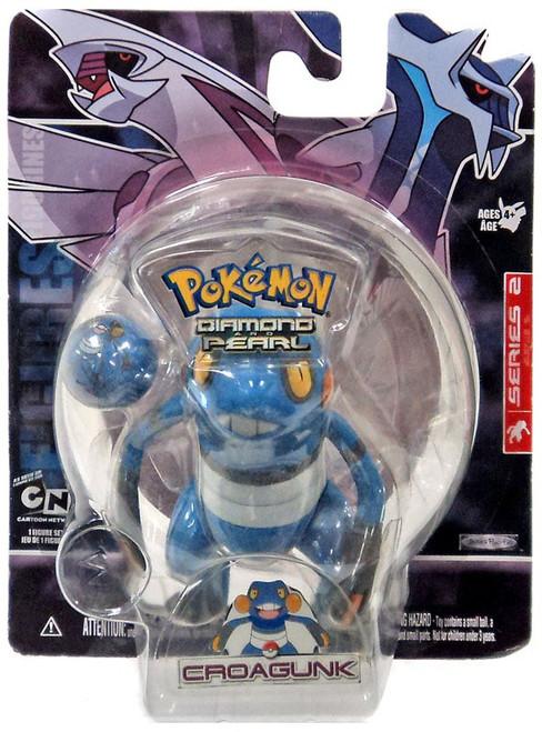 Pokemon Diamond & Pearl Series 2 Croagunk Figure
