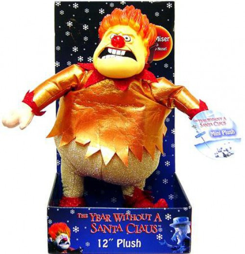 NECA Year Without Santa Claus Heat Miser 12-Inch Plush