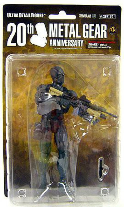 Metal Gear Solid Series 1 Soild Snake 7-Inch Collectible Figure [Otocamo Facemask MGS4]