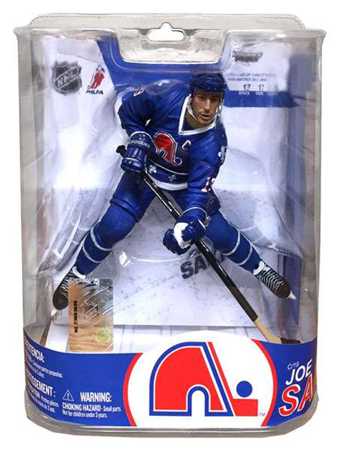 McFarlane Toys NHL Quebec Nordiques Sports Picks Series 17 Joe Sakic Action Figure