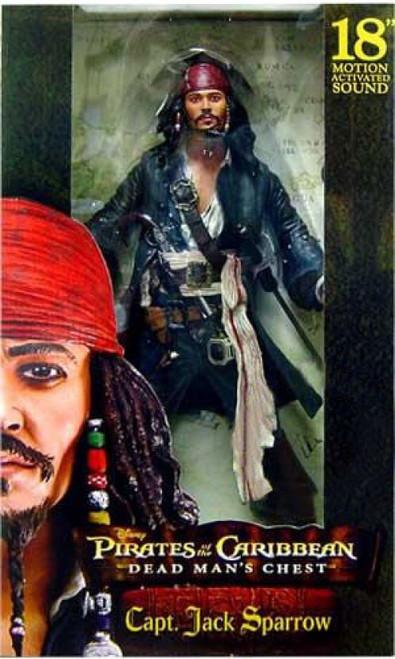 NECA Pirates of the Caribbean Dead Man's Chest Captain Jack Sparrow Action Figure