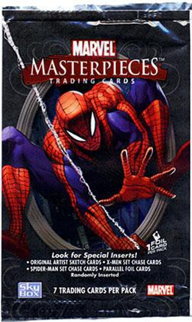 Skybox Marvel Masterpieces Series 1 Trading Card Pack [7 Cards]