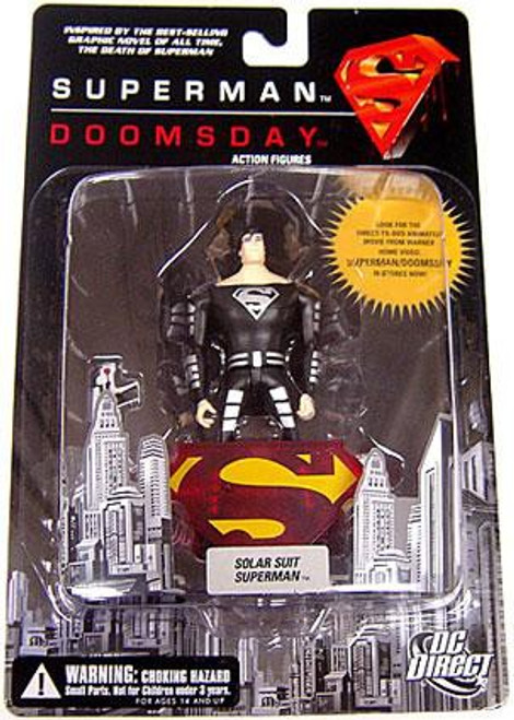 DC Superman Doomsday Solar Suit Superman Action Figure