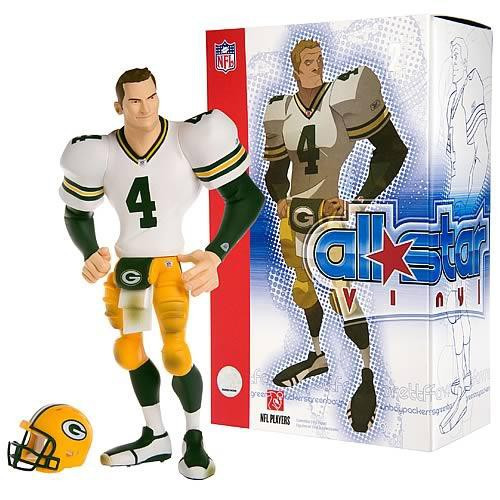NFL Green Bay Packers All Star Vinyl Brett Favre Vinyl Figure [White Away Jersey]
