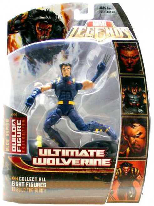 Marvel Legends Blob Series Ultimate Wolverine Exclusive Action Figure [Blue Outfit]