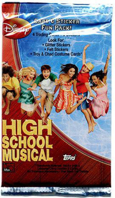 Disney High School Musical Trading Card Sticker Pack