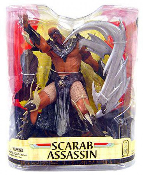 McFarlane Toys Spawn Series 33 Age of Pharaohs Scarab Assassin Action Figure