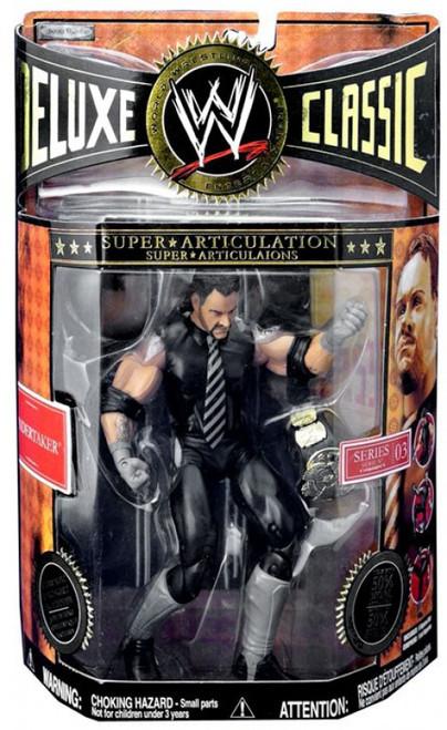 WWE Wrestling Deluxe Classic Superstars Series 3 Undertaker Exclusive Action Figure