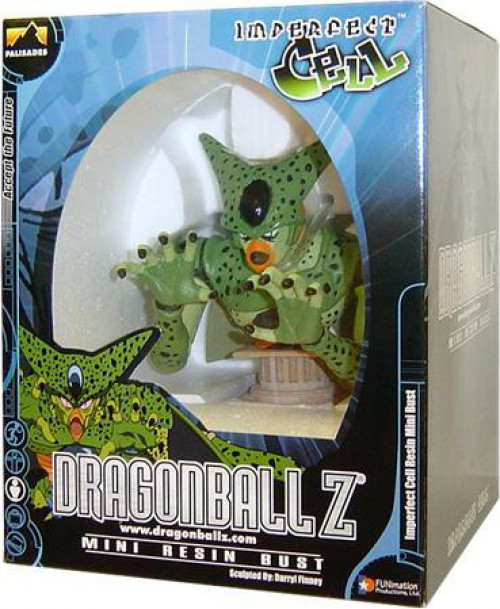 Dragon Ball Z Imperfect Cell Mini Resin Bust