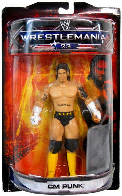 WWE Wrestling Road to WrestleMania 23 Series 3 CM Punk Exclusive Action Figure