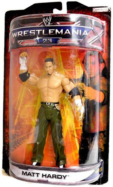 WWE Wrestling Road to WrestleMania 23 Series 3 Matt Hardy Exclusive Action Figure